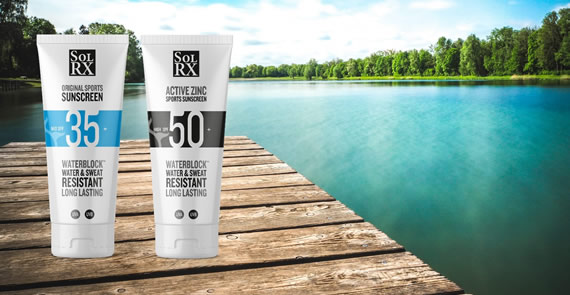 Solrx - The Ultimate Sports Sunscreen